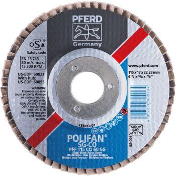 POLIFAN®-Fächerscheibe PFF 115 CO 60 SG/22,23 Auslaufartikel