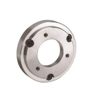 Stahl-Zwischenflansche mit zylindrischer Zentrieraufnahme DIN 6353 für Dreibacken-Futter, Spindelkop