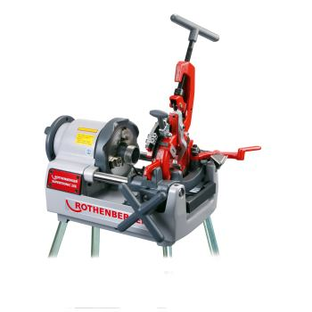 """""""ROTHENBERGER Kompakt Gewindeschneidmaschine SUPERTRONIC® 2 SE 230V Automatik-Schneidkopf 1/2"""""""" - 2"""""""