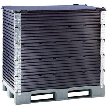 Deckel für Paletten-Aufsatzrahmen LxBxH 1200x800 m