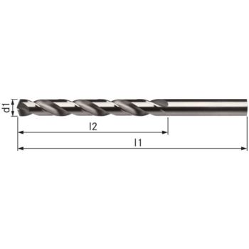 Spiralbohrer DIN 338 3,7 mm Typ VA HSSE