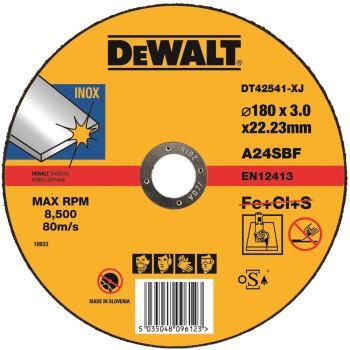Standard Edelstahl-Trennscheibe - flach DT42541