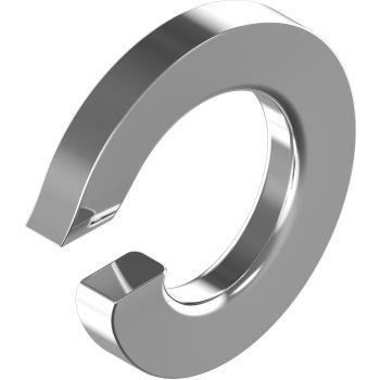 Federringe DIN 127 A aufgebogen - Edelstahl A2 A 4 für M 4