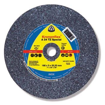Trennscheibe INOX, SPECIAL, A 24 TZ, gekröpft, Abm.: 125x2,5x22,23 mm