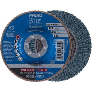 POLIFAN®-Fächerscheibe PFC 115 Z 80 SG/22,23
