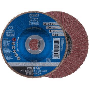 POLIFAN®-Fächerscheibe PFF 100 A 80 SG/16,0
