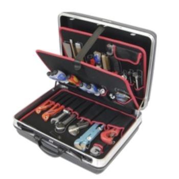 Konturen-Hartschalenkoffer 1-H1K, komplett, mit Sa nitär-Werkzeugpaket 1, 45-teilig