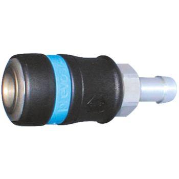 Sicherheits-Schnellkupplung 6 mm Schlauch-Innendur