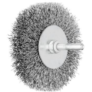 Rundbürste mit Schaft, ungezopft RBU 8015/6 ST 0,30