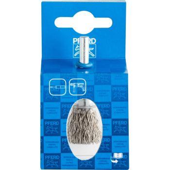 Pinselbürste mit Schaft, ungezopft POS PBU 1516/6 INOX 0,35