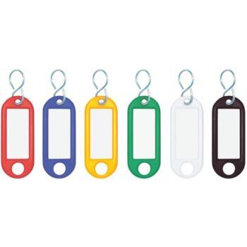 Schlüsselanhänger 10 Stück grün