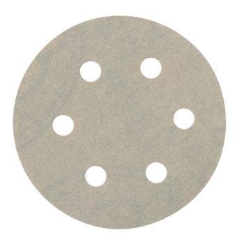 25 Haftschleifblätter, 80 mm, P 100, Metall, Serie