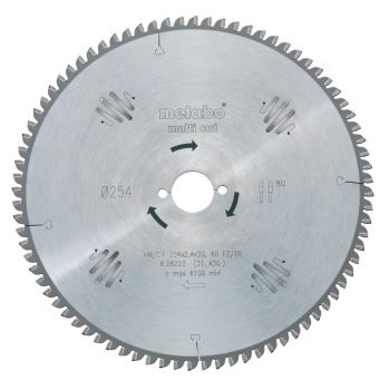 Kreissägeblatt HW/CT 210 x 30 x 2,8/2,0, Zähnezahl