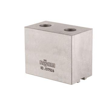 Aufsatzbacke AB in Sonderbreite und -höhe, Größe 500+630, 4-Backensatz, ungehärt