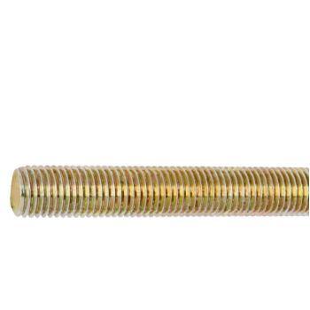Gewindestück mit metrischem ISO-Regelgewinde FormA DIN 976 Stahl 8.8 gelb verzinkt M16 x 430 1