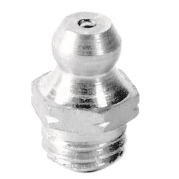 Edelstahl Hydraulik-Kegel-Schmiernippel H1 M8x1