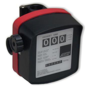 Einbau-Zähler Digimet M80, VITON für EP12 und EP24
