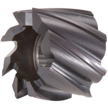Walzenstirnfräser HSSE-PM-TiAlN 50x36x22mm DIN 18