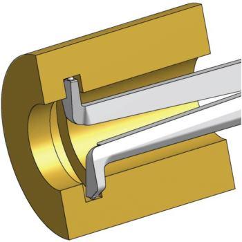Schnelltaster H220 20 40mm 0,01mm Skw. IP65 f.Inn