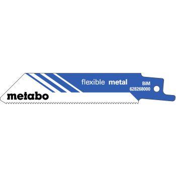 """5 Säbelsägeblätter, Metall, Serie """"flexible"""", 100x"""