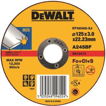 Standard Edelstahl-Trennscheibe - flach DT42342