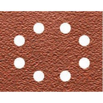 Schleifpapier 115 x 140mm K150, Mehrzwe DT3005 arbe - Trockenschliff - gelocht (8 Loch ringförmig