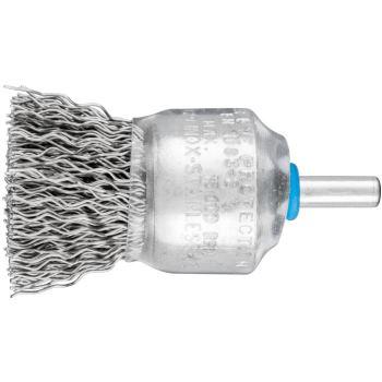 Pinselbürste mit Schaft, ungezopft PBU 3029/6 INOX 0,50
