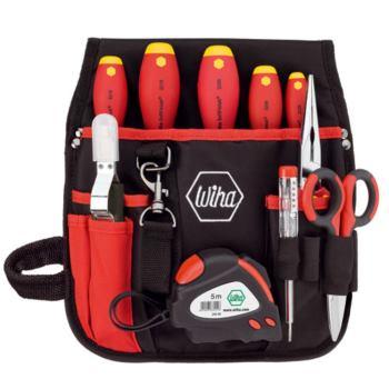 Werkzeug-Set Elektriker-Gürteltasche, 10-tlg.