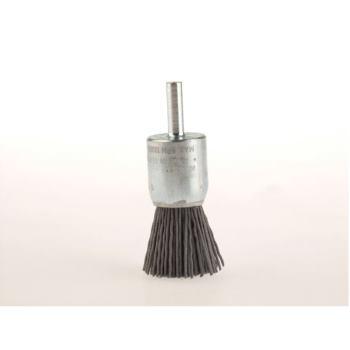 Pinselbürsten mit 6 mm Schaft Drm 28 mm lang 75 mm Schleifborsten SIC K 180 hoch 30 mm