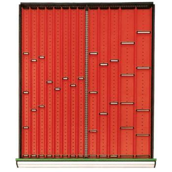 Einrichtungssortiment 800 S Muldenplatten ab 40