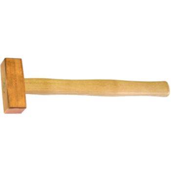 Kupferhammer Fäustelform 0,500 kg mit Hickorystiel