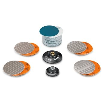 Edelstahl-Set Vorbereitung Polieren Fläche/Rohre/P rofile
