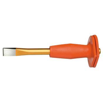 Maurermeißel 8-kant, mit Handschutz 300x18 mm