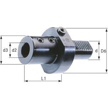Bohrerhalter Form E1 VDI 40 Durchmesser 16 mm DIN