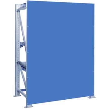 Schwerlast-Auszugregal - Rückwand Rahmenhöhe x Fel