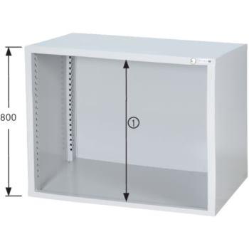 HK Schrankgehäuse System 700 B, Modell B7/24 HxBxT