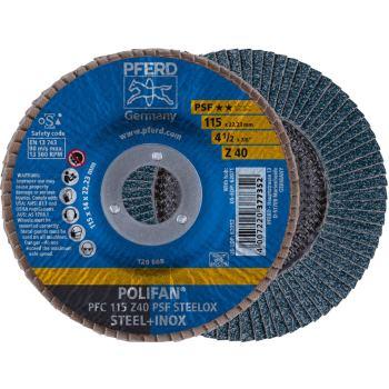 POLIFAN®-Fächerscheibe PFC 115 Z 40 PSF/22,23