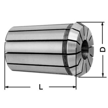 Spannzangen DIN 6388 B 415 E 6,5 mm