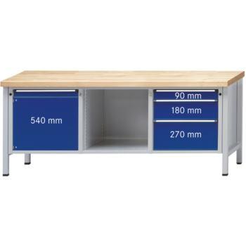 Werkbank Modell 146 V Platte Buche Massiv (BM