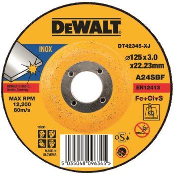 Standard Edelstahl-Trennscheibe - gekrö DT42345