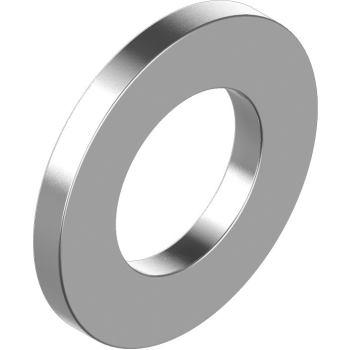 Scheiben f. Zylindersch. DIN 433 - Edelstahl A2 Größe 4,3 für M 4
