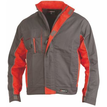 Bundjacke Starline® grau/orange Gr. XXXL