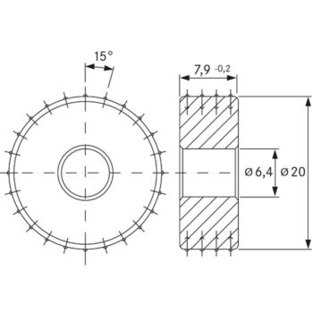 DIARAD-Abrichter 2 CT in Reihe