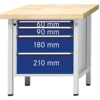 Werkbank Modell 19 V ZBP Tragfähigkeit 1500kg