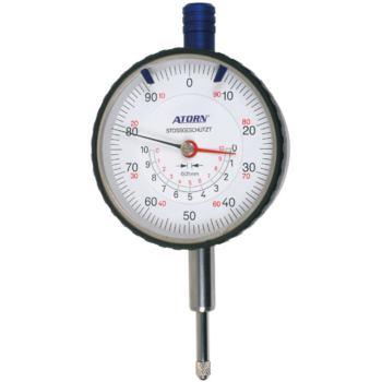 Messuhr 10 mm Messspanne 0,01 mm Skw. mit konzentr ischer mm-Anzeige