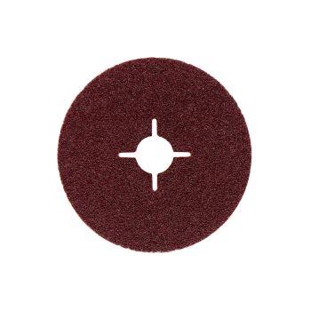 Fiberscheibe 115 mm P 40, Normalkorund, Stahl, NE-