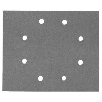 Schleifpapier 115 x 140mm K40, Mehrzwec DT3011 rbe - Trockenschliff - gelocht (8 Loch ringförmig)