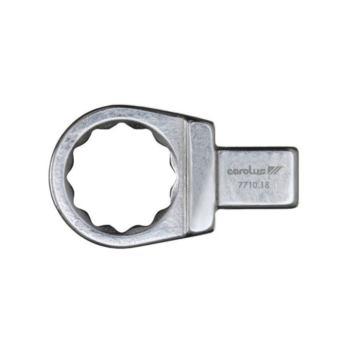 Einsteck-Ringschlüssel 15 mm SE 9x12