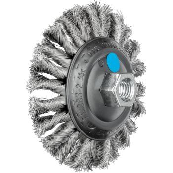 Kegelbürste mit Gewinde, gezopft KBG 11515/M14 CT INOX 0,35