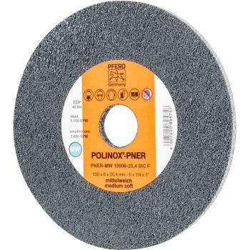 POLINOX®-Kompaktschleifrad PNER-MW 15006-25,4 SiC F
